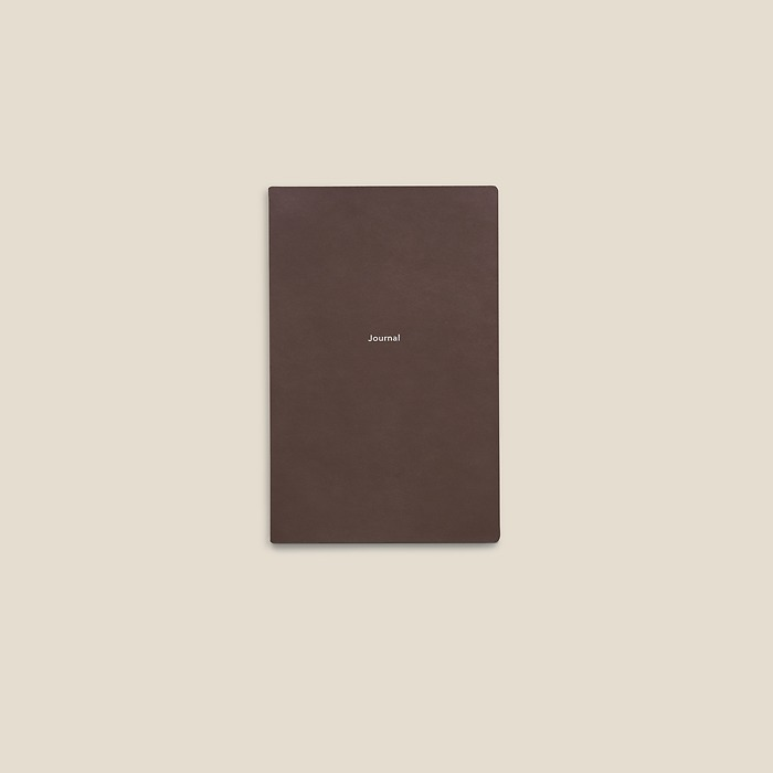 Journal S Notizbuch blanko French Roast