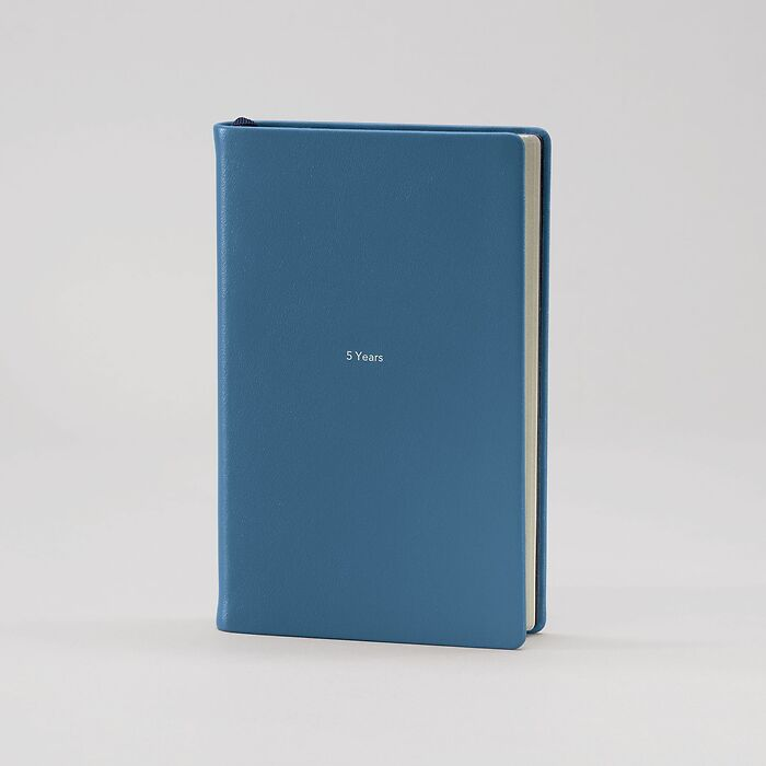 5 Years Book M Prussian Blue