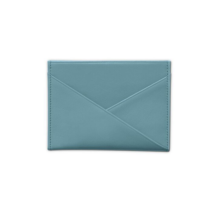 Credit Card Caddy Pigeon Blue