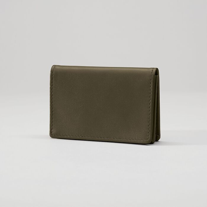 Business Card Caddy Ranger Green