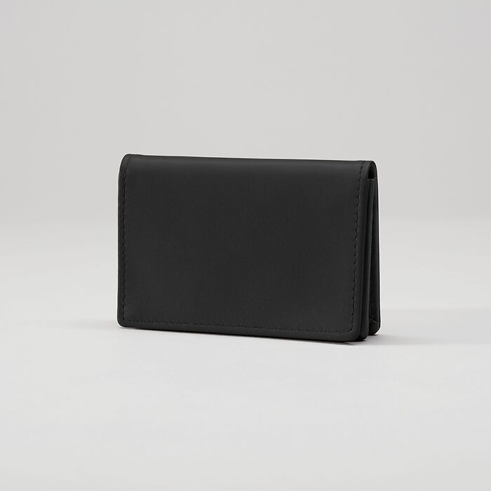 Business Card Caddy Nero