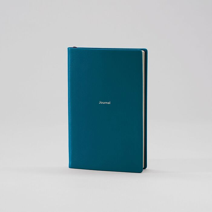 Journal S liniert Petrol Green