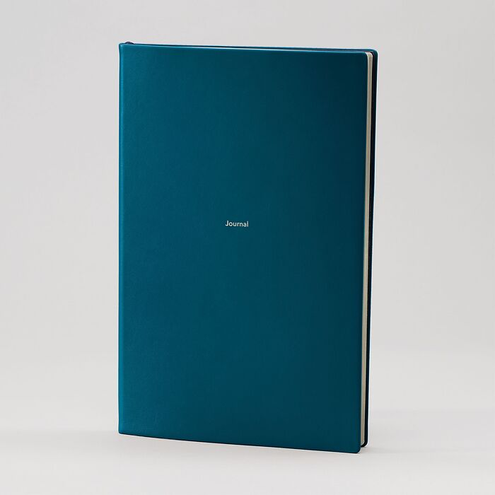 Journal L Notizbuch liniert  Petrol Green