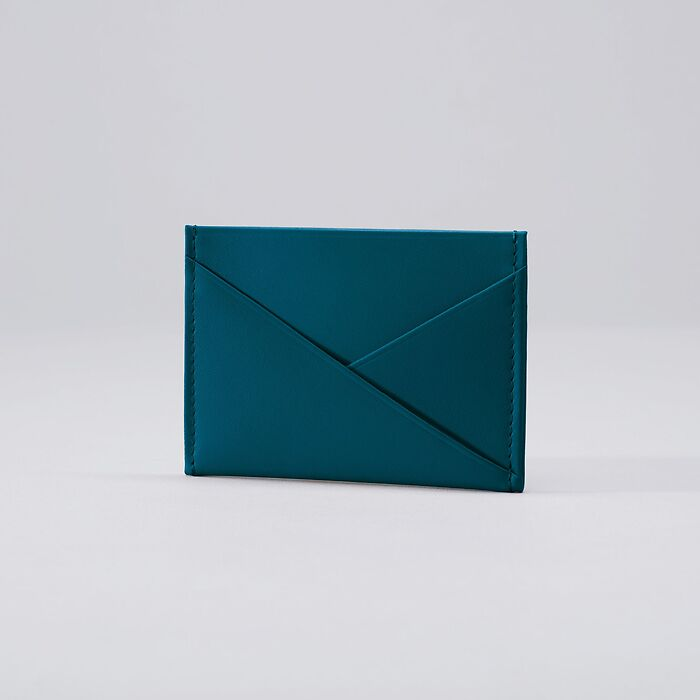 Credit Card Caddy Petrol Green