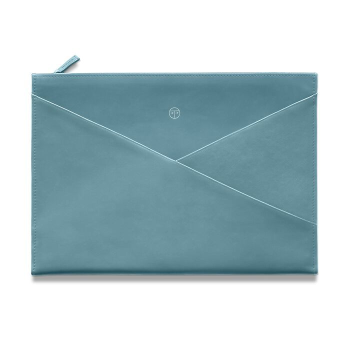 Envelope Pouch Wallaby Pigeon Blue