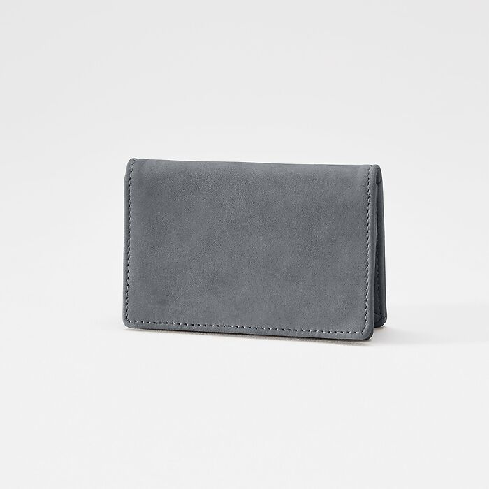 Business Card Caddy Nubuck